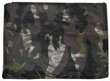 Terepszínű ponyva 3,85 x 4,70 m