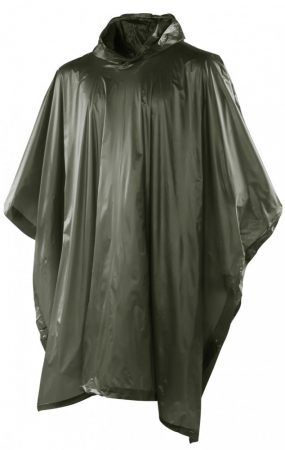 Zöld PVC poncho
