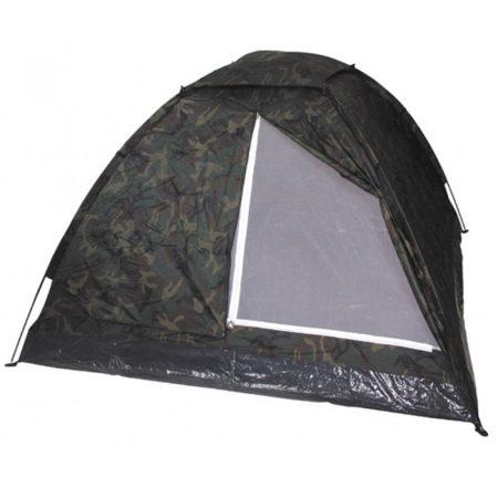 Három személyes iglu sátor woodland terep - vándor túrabolt - kermpingfelszerelések