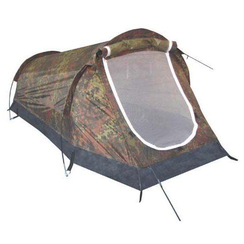Terepszínű egyszemélyes sátor