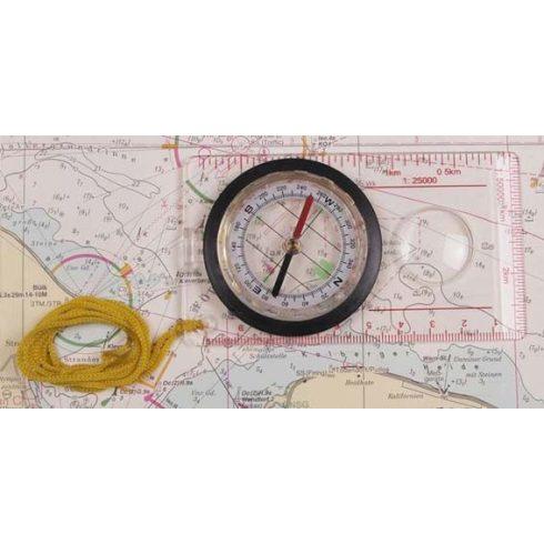 Térkép iránytű