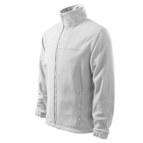 Férfi fehér színű polár dzseki - XL méret