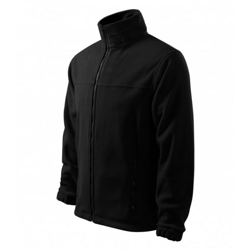 Férfi fekete színű polár dzseki - 4XL méret