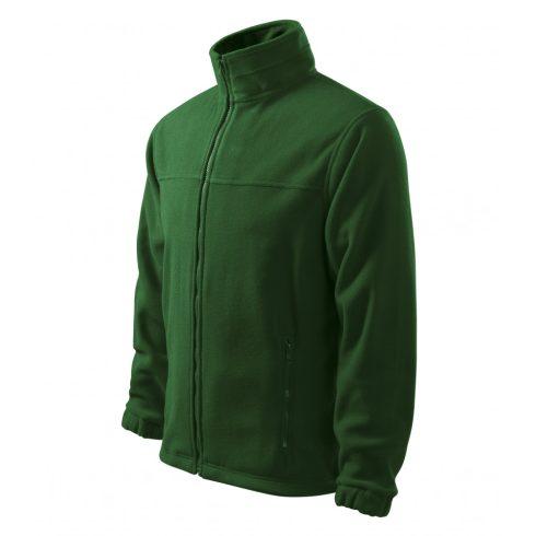Férfi üvegzöld színű polár dzseki - S méret