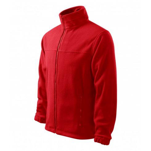 Férfi piros színű polár dzseki - XL méret