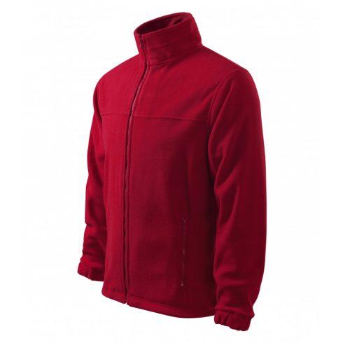 Férfi marlboro piros színű polár dzseki - L méret