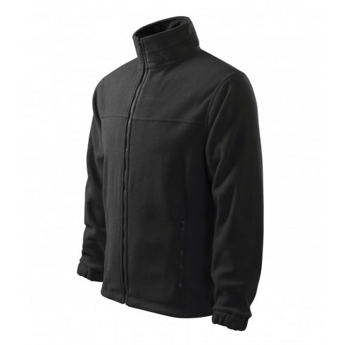 Férfi ébenszürke színű polár dzseki - XL méret