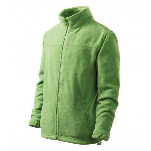 Gyerek borsózöld színű polár dzseki - 122 cm/6 éves méret