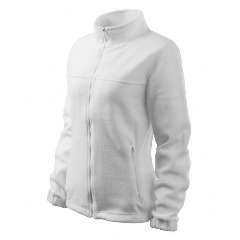 Női fehér színű polár dzseki - XL méret