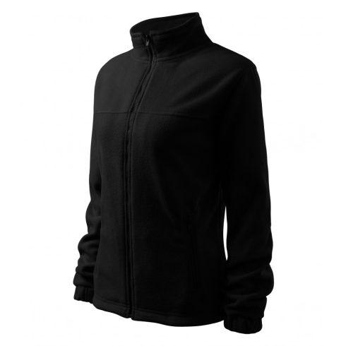 Női fekete színű polár dzseki - 2XL méret
