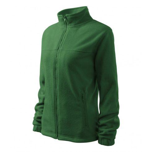 Női üvegzöld színű polár dzseki - XL méret