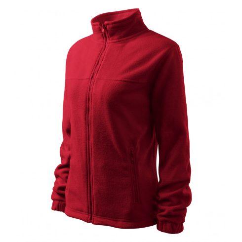 Női marlboro piros színű polár dzseki - L méret
