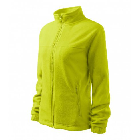 Női lime színű polár dzseki - XL méret