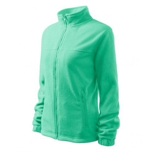Női menta színű polár dzseki - XL méret