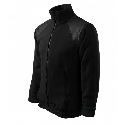 Unisex fekete színű polár dzseki - 3XL méret