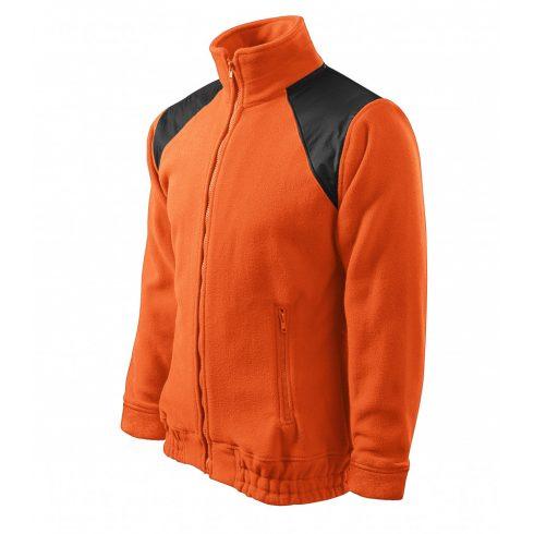 Unisex narancssárga színű polár dzseki - S méret