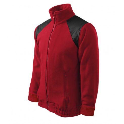 Unisex marlboro piros színű polár dzseki - M méret