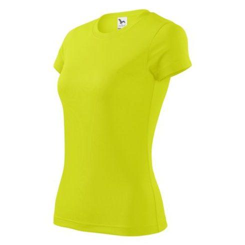 Női rövid ujjú sportpóló, 150g - többféle színben