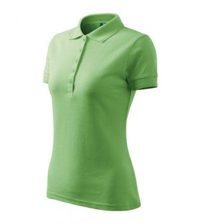 Galléros női póló pique anyagból, 200g - több színben