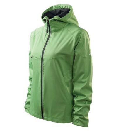 Könnyű softshell kabát kapucnival - több színben