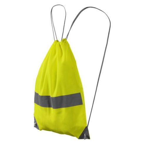Láthatósági hátizsák - neonsárga