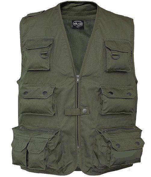 zöld safari mellény - Vándor túrabolt - túra ruházat - mellények 896a785f0a