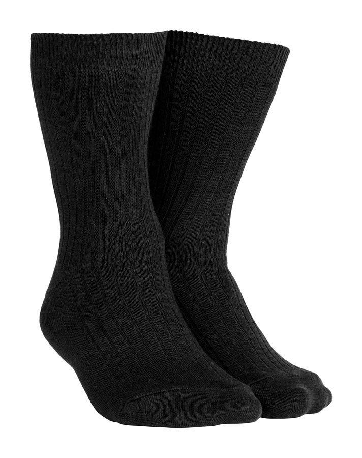 Fekete pamut zokni - Vándor túrabolt f7afdcadf2