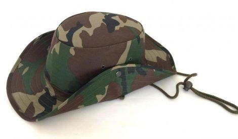 Terepmintás bush kalap