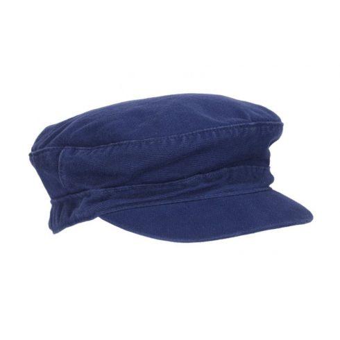 Nyári vászon sapka kék színben