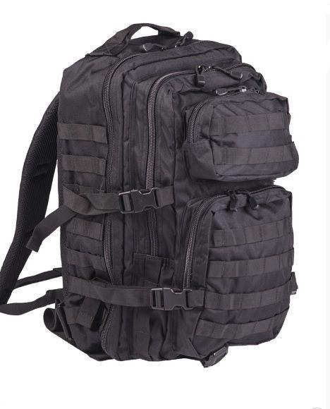 Fekete hátizsák 36 L - hátizsákok - vándor túrabolt - hátizsákok 77031682f6