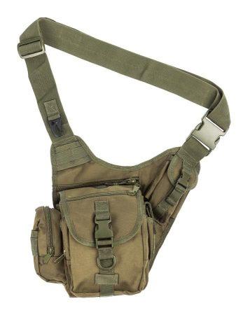 zöld válltáska - vándor túrabolt - táskák