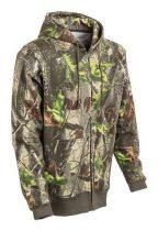 Erdő terepszínű kapucnis pulóver